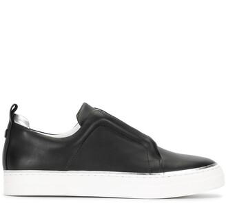 Pierre Hardy Slip-On Leather Sneakers