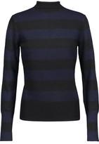 Rag & Bone Careen Striped Wool And Cashmere-Blend Turtleneck Sweater