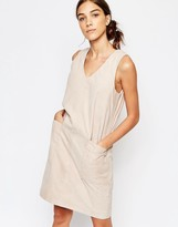 Selected Sara Sl Suede Shift Dress