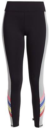 Terez Reflective Stripe Leggings