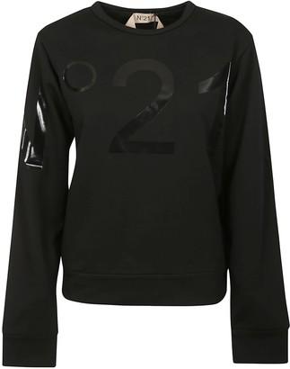 N°21 N.21 Tape Logo Sweatshirt