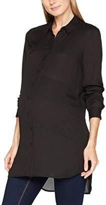 Noppies Women's's Blouse ls Brechje 70583 Maternity (Black C270), 14 (Size: L)