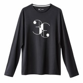 La Redoute Collections Long-Sleeved Crew Neck T-Shirt