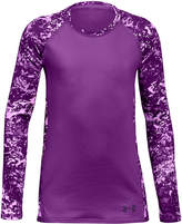 Under Armour ColdGear Logo-Print T-Shirt, Big Girls