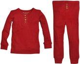 Burt's Bees Baby Pajama Tee And Pant Set (Baby) - Cranberry-12 Months