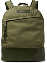 WANT Les Essentiels Kastrup Leather-Trimmed Nylon Backpack