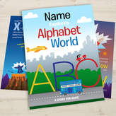 Jonny's Sister Your Child In Alphabet World Personalised Book