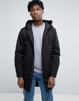 ONLY & SONS Fish Tail Parka with Zip Split Hood