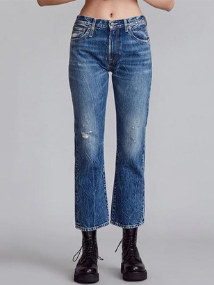 R 13 Bowie Cropped Jeans