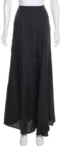 Dries Van Noten Flared Maxi Skirt
