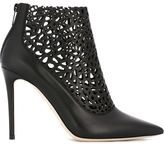 Jimmy Choo 'Maurice' booties - women - Calf Leather/Leather - 38.5