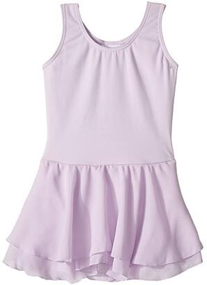 Capezio Classic Double Layer Skirt Tank Dress (Toddler/Little Kids/Big Kids) (Lavender) Girl's Dress