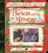 Sterling Theseus & the Minotaur (Ancient Greek Myths)