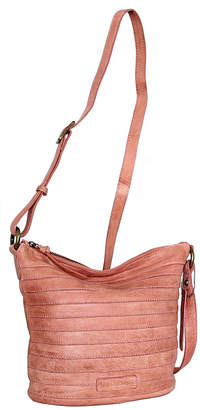 Nino Bossi Handbags Women's Handbags Dusty - Dusty Rose Saige Leather Crossbody Bag