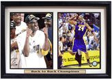Los Angeles Lakers Kobe Bryant Double Custom Frame