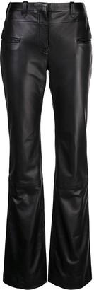 Altuzarra Serge leather trousers