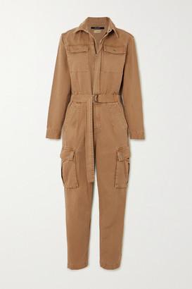 Ksubi Feedback Belted Cotton-drill Jumpsuit