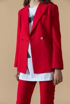 Genuine People Red Blazer