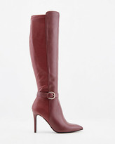 Le Château Stretch Faux Leather Knee-High Boot