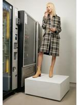 Helmut Lang Plaid Coat