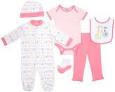 Cutie Pie Baby Pink Animal Footie Set - Infant