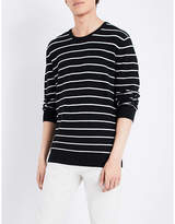 Polo Ralph Lauren Striped cotton and cashmere-blend jumper