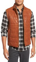 Billy Reid Quilted Leather Vest