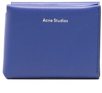 Acne Studios Tri-Fold Logo Wallet
