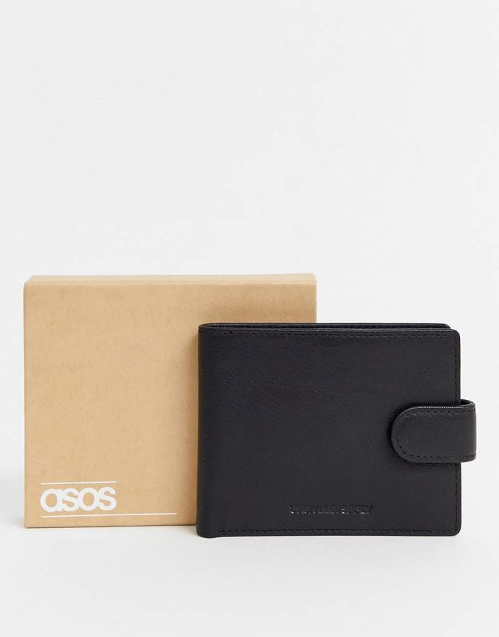 f69dcd7f Leather Wallet Men Coin Pocket Tan - ShopStyle UK