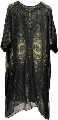 Megan Park Black Silk Dress for Women
