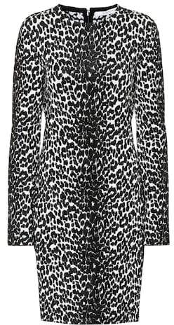Givenchy Leopard jacquard dress