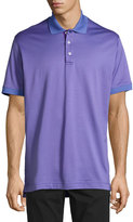 Robert Graham Short-Sleeve Polo Shirt, Blue