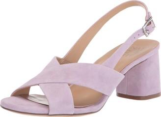 Naturalizer Womens Azalea Wisteria Purple Heeled Sandals 12 M