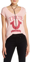 True Religion True Horseshoe Banner Tee