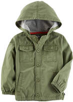 Osh Kosh Oshkosh Boys Olive Jacket-Toddler