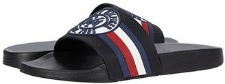 Tommy Hilfiger Empire (Black) Men's Slide Shoes