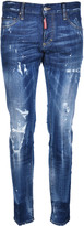 DSQUARED2 Slim Distressed Stonewashed Jeans