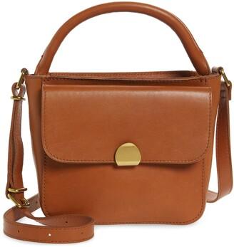 Madewell The Mini Abroad Leather Crossbody Bag