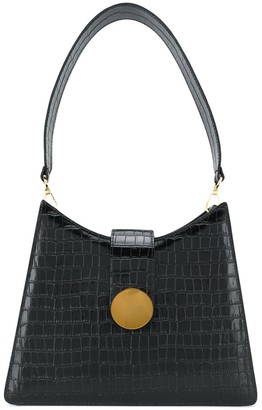 Elleme Crocodile Effect Shoulder Bag