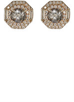 Monique Péan Women's Mixed-Diamond Octagonal Studs