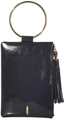 THACKER Nolita Clutch (Black/Gold) Handbags