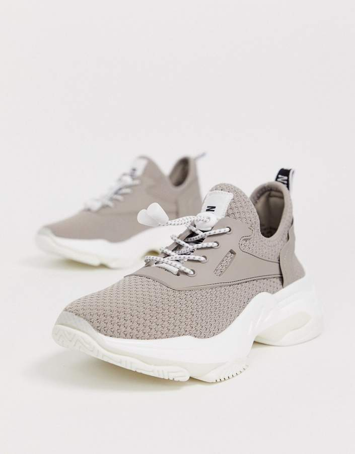 Steve Madden Match taupe chunky sneakers