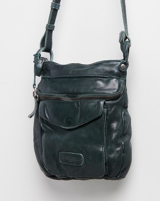 Stitch & Hide - Women's Grey Leather bags - Venice Crossbody Bag - Size One Size at The Iconic