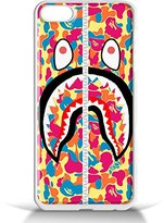 A Bathing Ape Bape Shark Pink for iPhone 5/5s White case