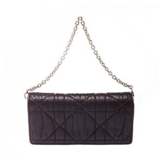 Christian Dior Lady Burgundy Leather Clutch bags