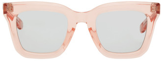 Sacai Pink Native Sons Edition Cornell Square Sunglasses
