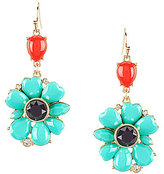 Anna & Ava Flashback Flower Drop Earrings