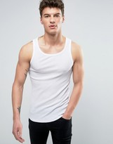 Solid Tank In White