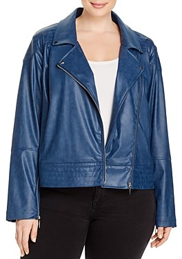 Lysse Plus Sienna Faux-Leather Moto Jacket