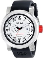 Redline Red Line Men's RL-50046-02BK-BKST Torque Sport Dial Black Silicone Automatic Watch